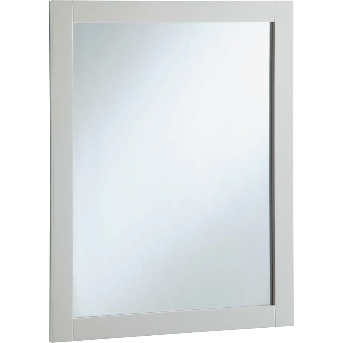 20X28 WHITE WALL MIRROR