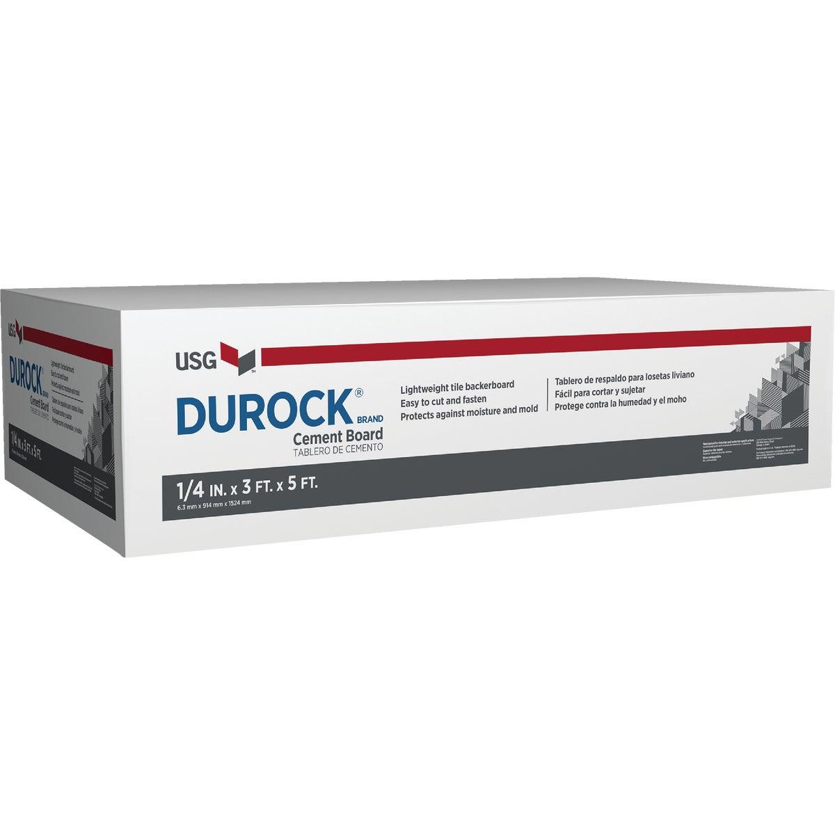 1/4X3X5 DURCK CMNT BOARD