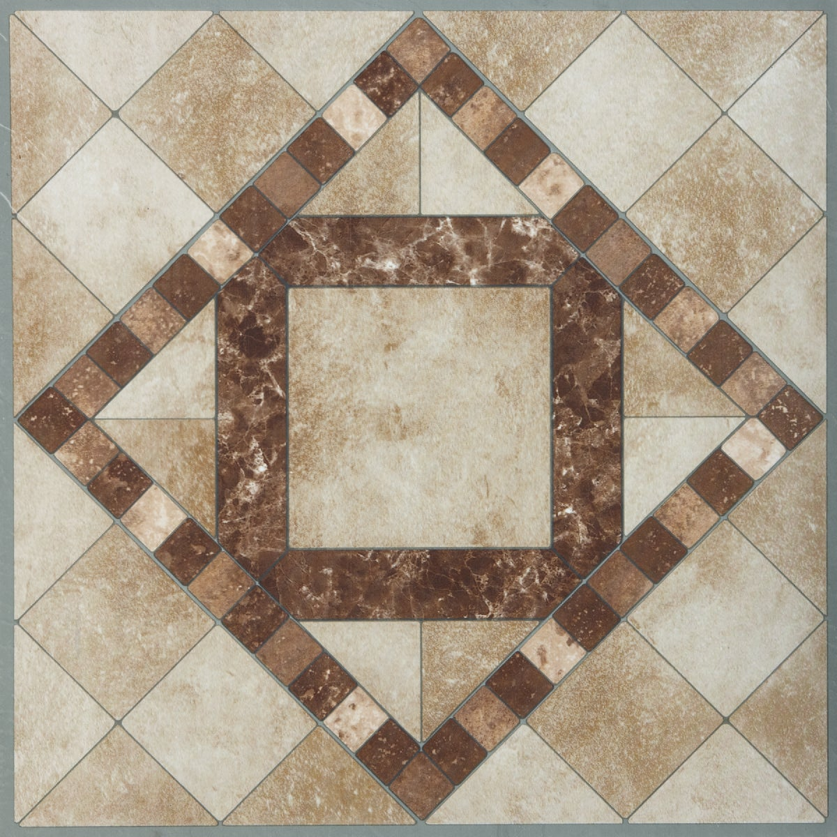 "12"" TRAVRTN MOSAIC TILE - KC90704 by Do it Best"