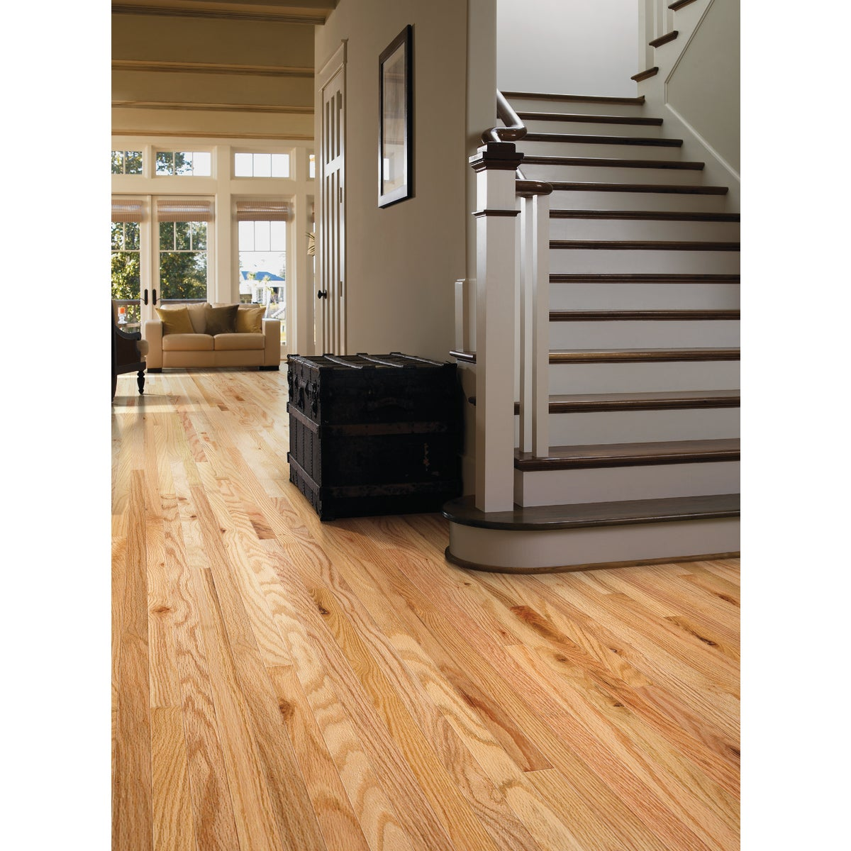 NAT OAK SOLID WOOD FLOOR - SW351-143 by Shaw Industries