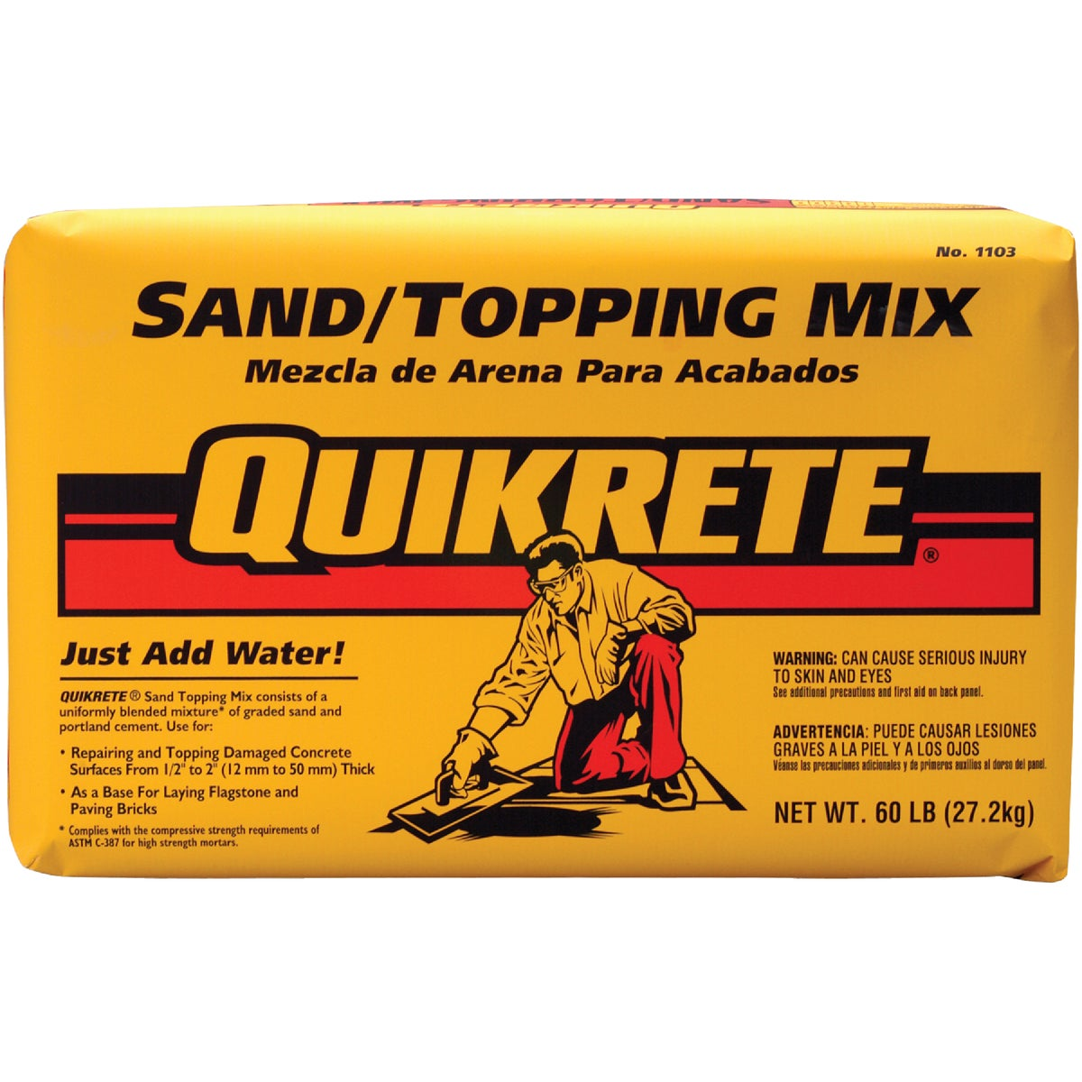 60LB SAND MIX - 110360 by Quikrete Co