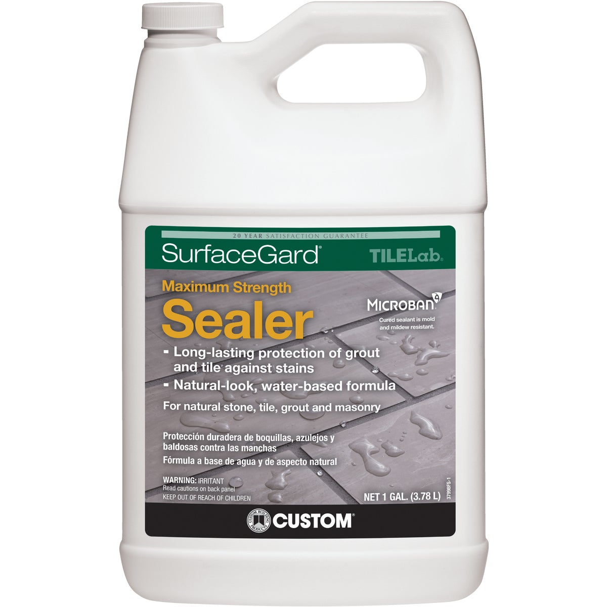 GAL SURFACEGUARD SEALER - TLSGSRA1-2 by Custom Building Prod