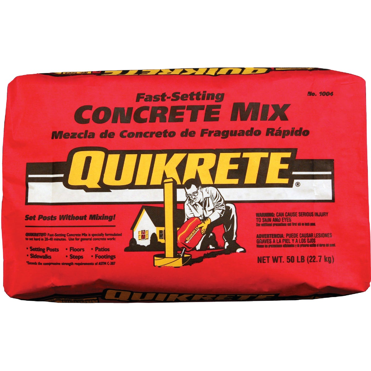 50LB FAST CONCRETE MIX - 100450 by Quikrete Co