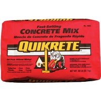 Quickrete Fast-Setting Concrete Mix, 100450