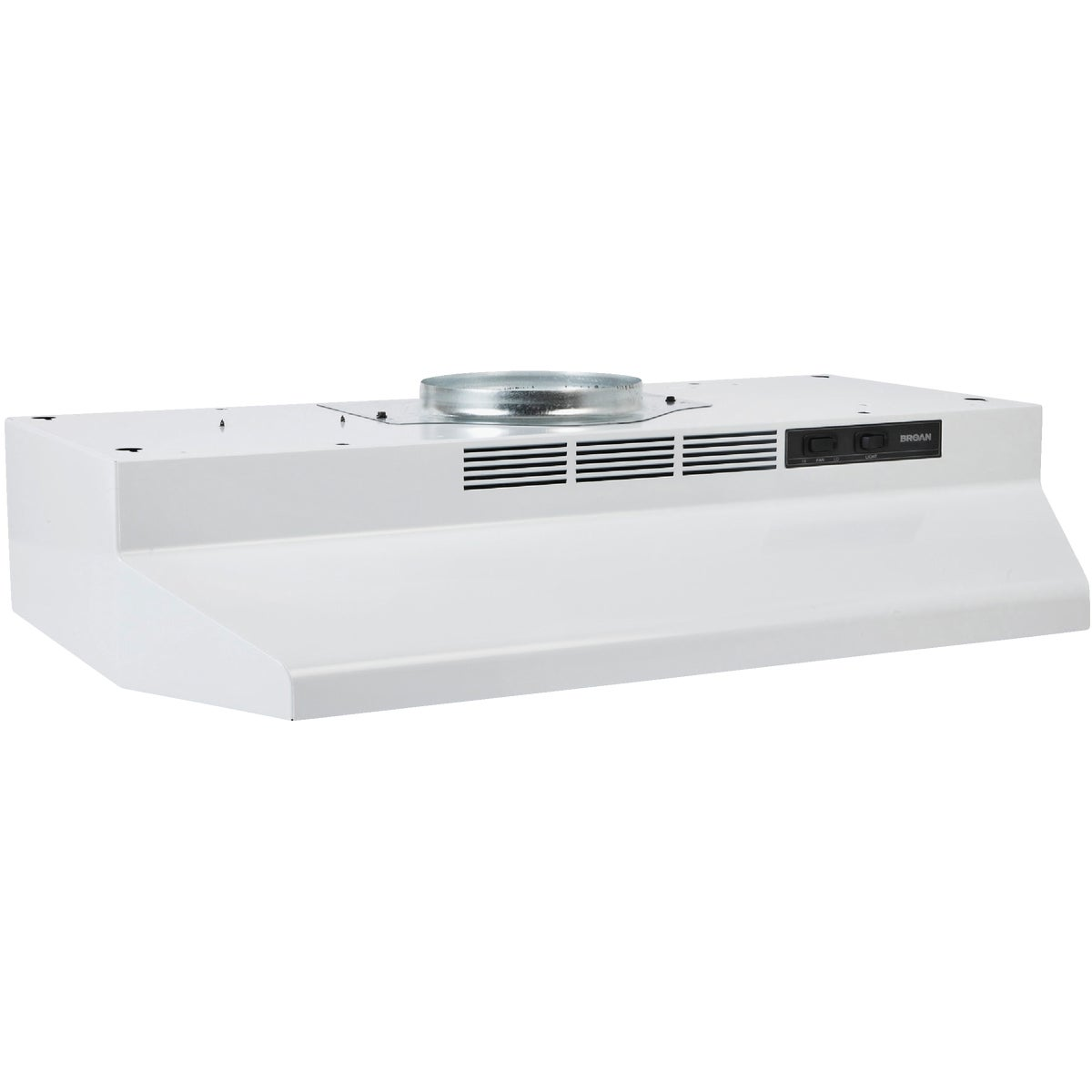 "30"" WHITE CONV RANGEHOOD - F403001 by Broan Nutone"