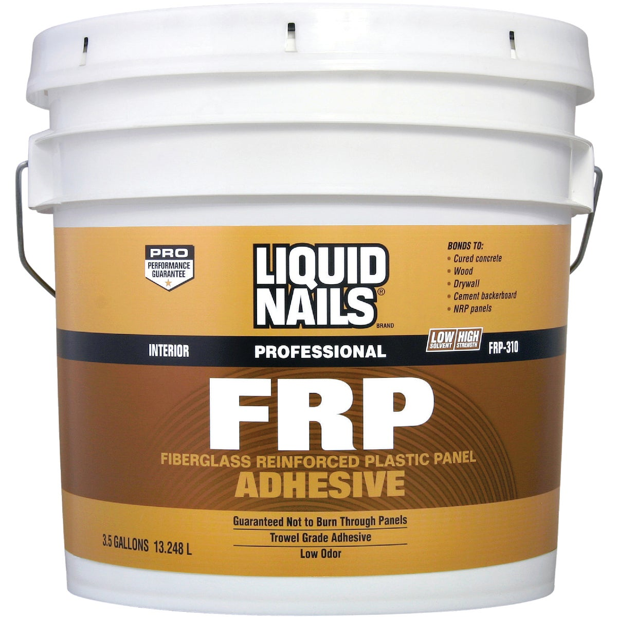 3.5GAL FRP/NRP ADHESIVE - FRP310 by Liquid Nails/akzonob