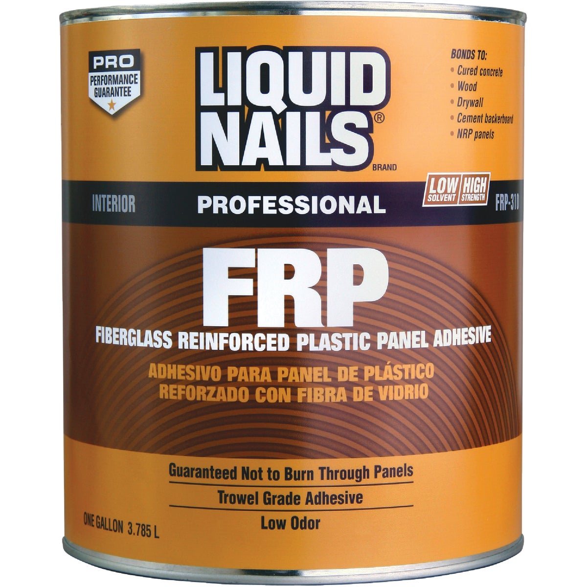 GAL LTX FRP/NRP ADHESIVE - FRP310 by Liquid Nails/akzonob