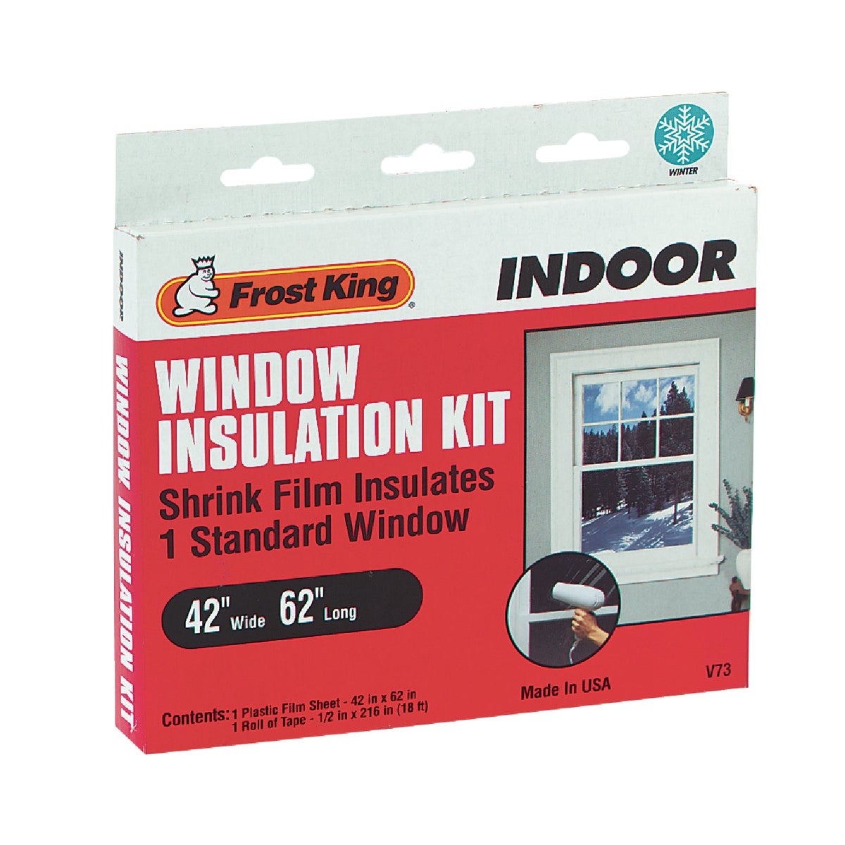 SHRINK FILM WINDOW KIT - V73H by Thermwell Prods Co