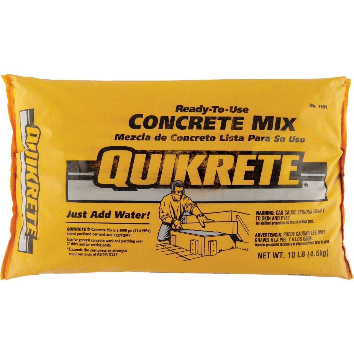 10LB CONCRETE MIX - 110110 by Quikrete Co