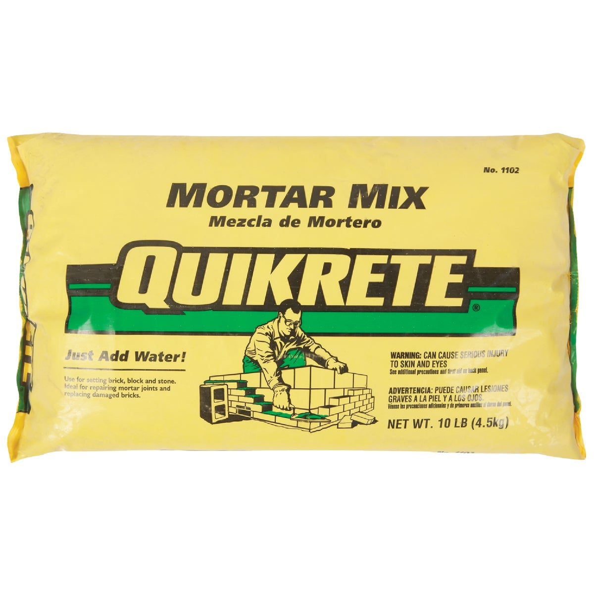 10LB MORTAR MIX - 110210 by Quikrete Co