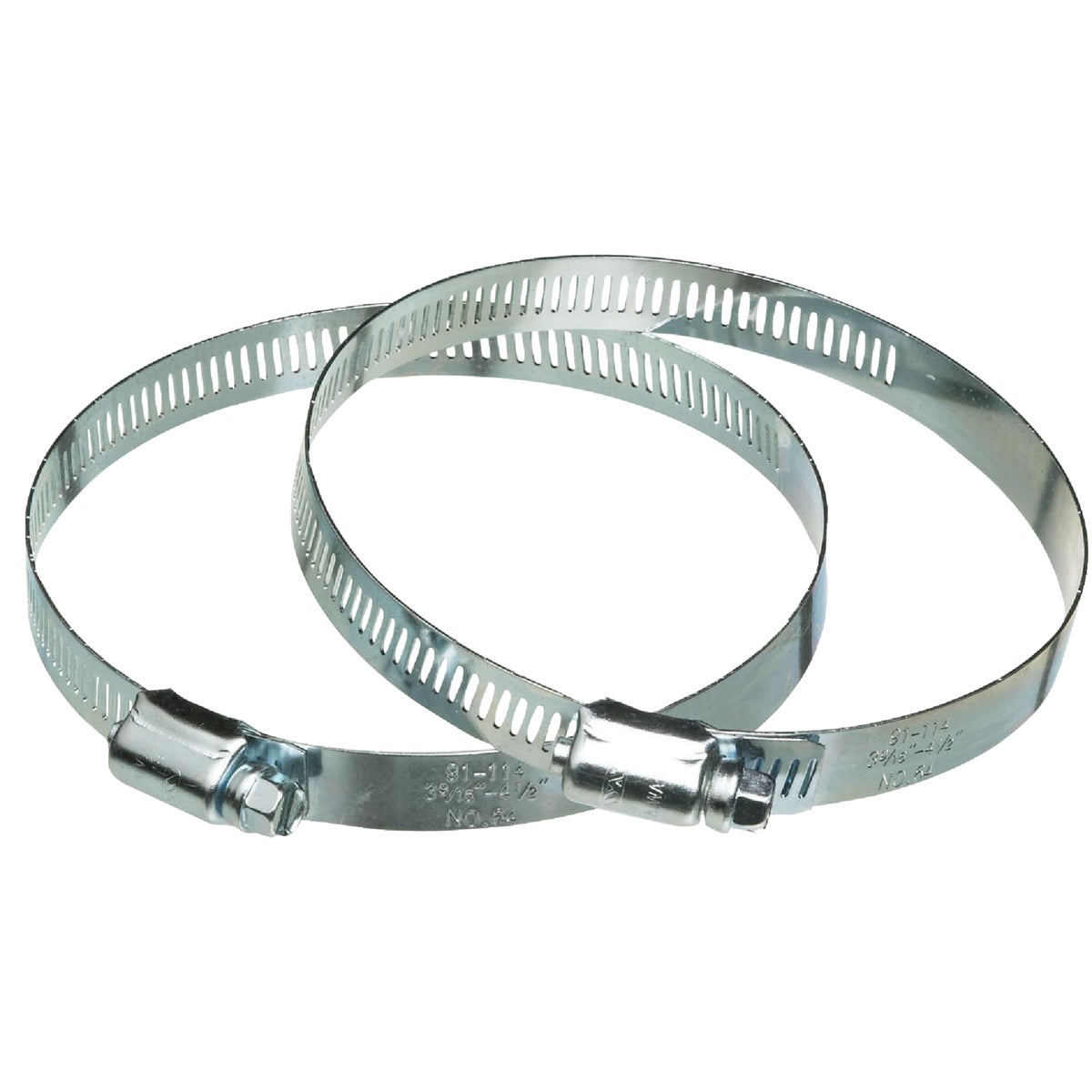 "2PK 4"" METAL DUCT CLAMP - 2MC4E by Dundas Jafine"