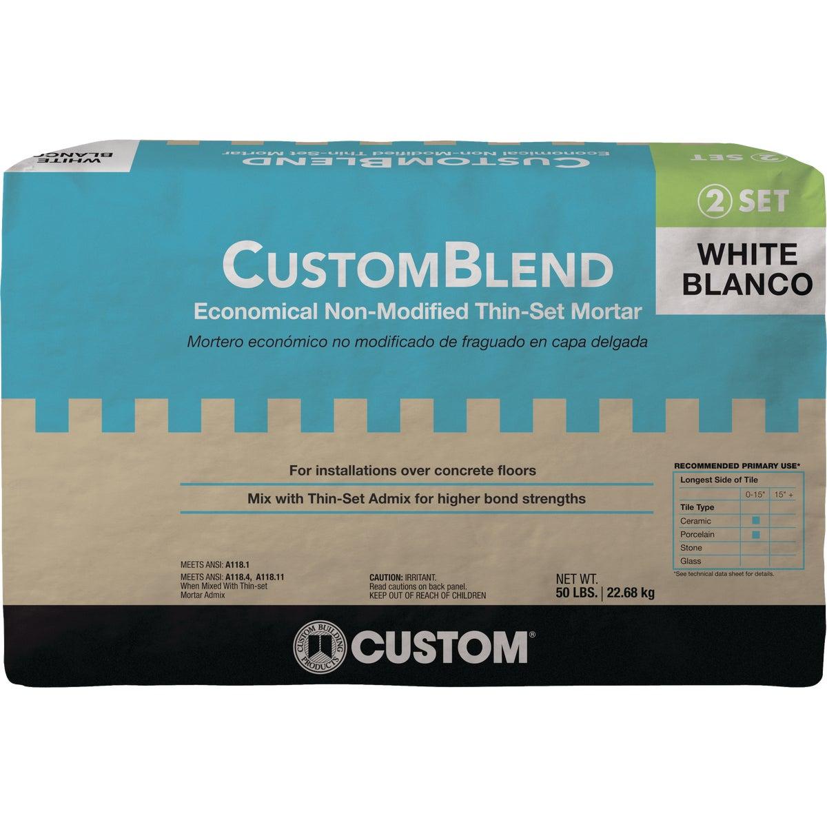 Custom-Blend 50 Lb. White Mortar Mix