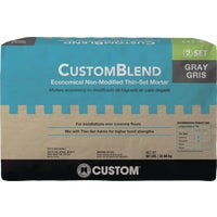 Custom-Blend Thin-Set Mortar Mix, CBTSG50