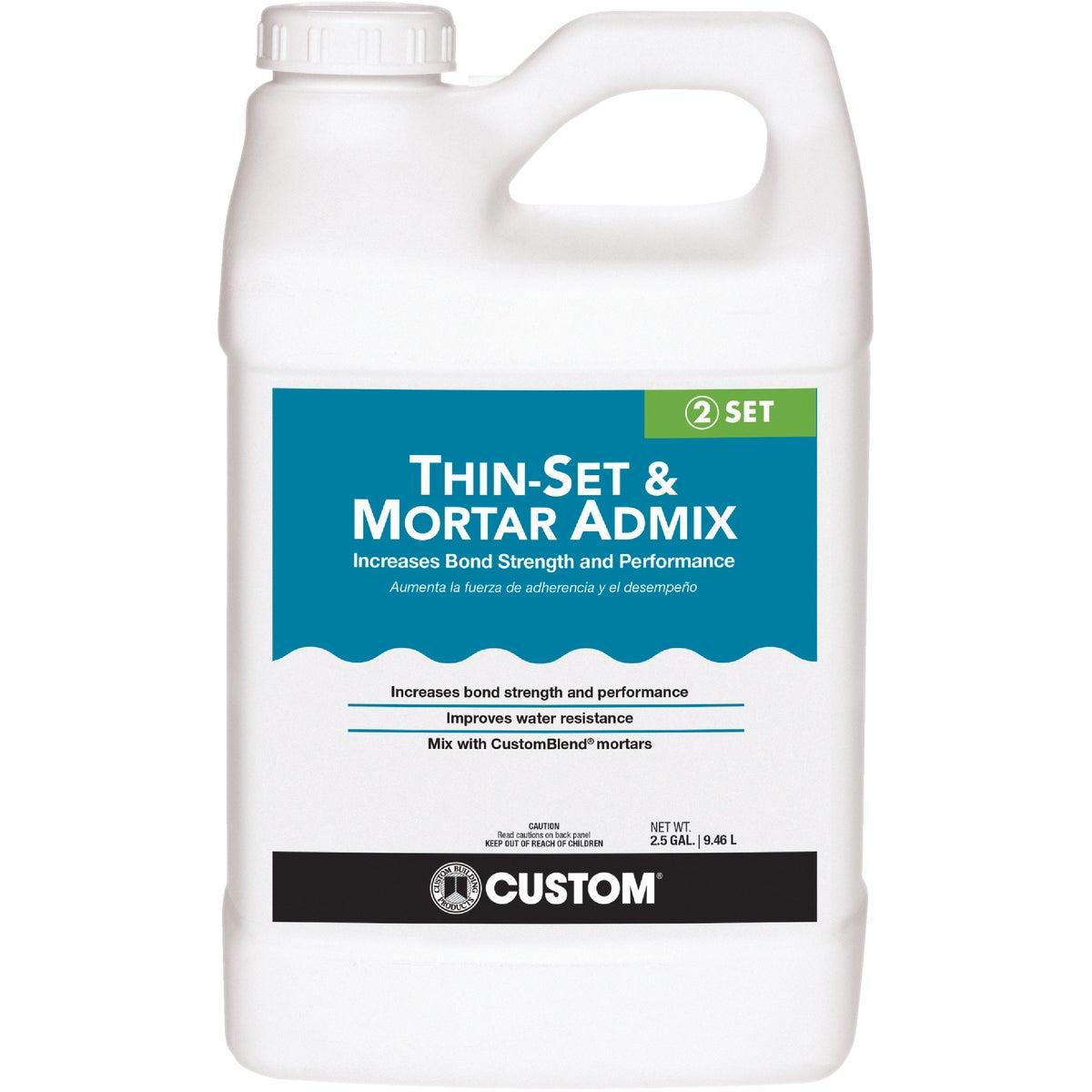 2.5GL THSET MORTAR ADMIX - AMA2 by Custom Building Prod