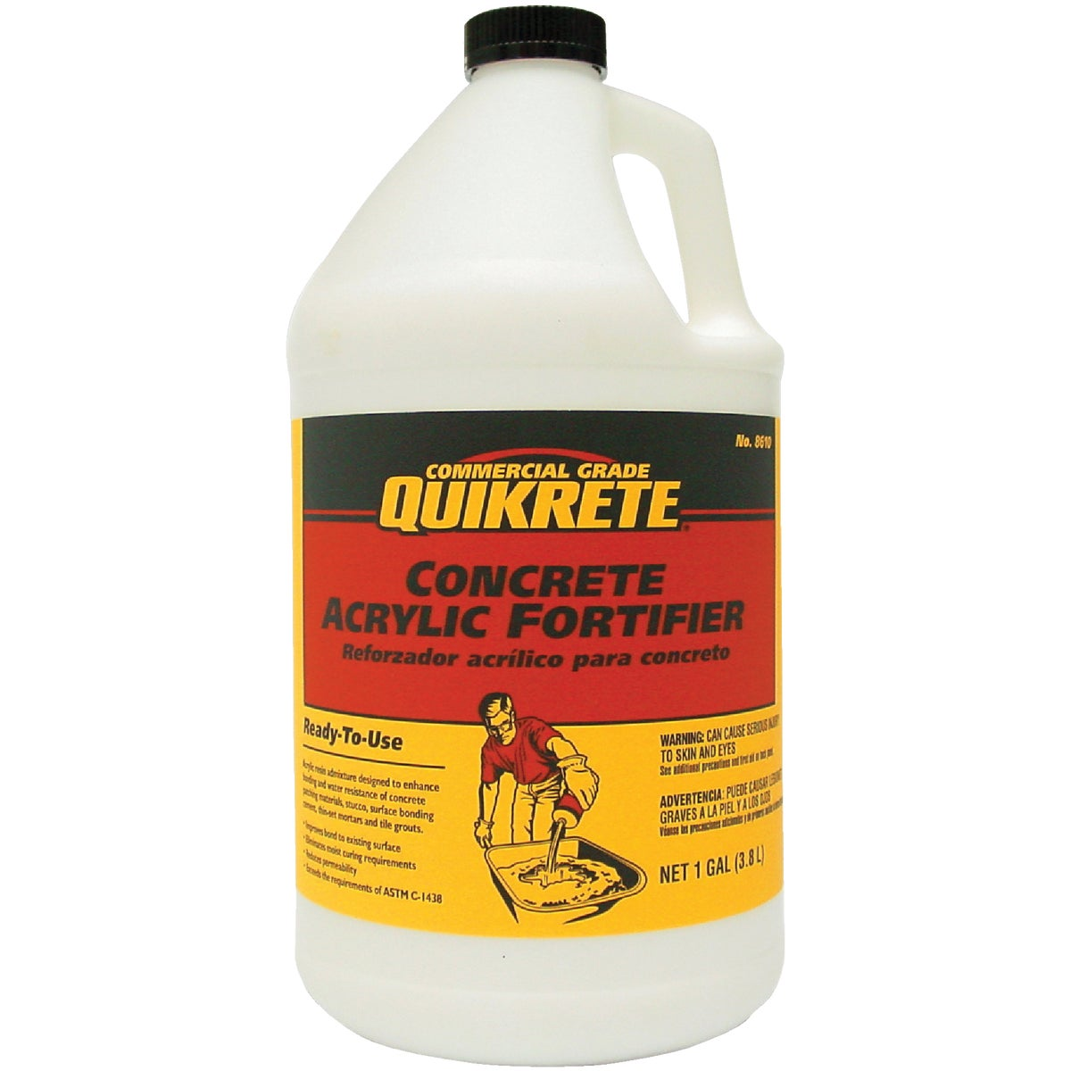 Quikrete 861001 Concrete Acrylic Fortifier