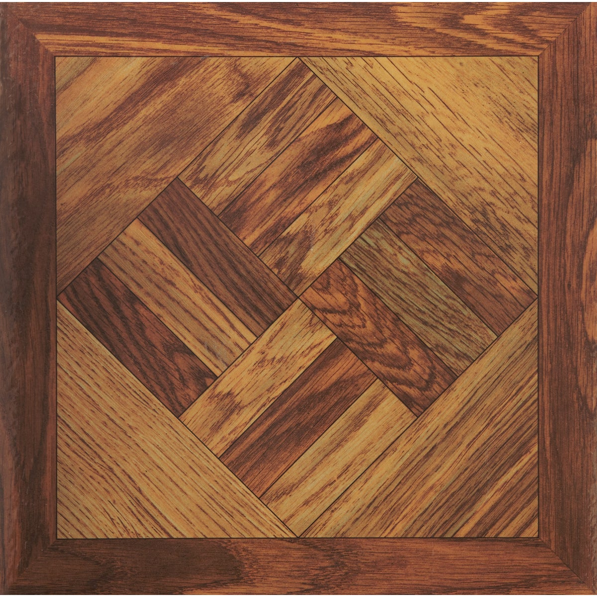 "12"" WOOD PARQUET TILE - KC91613 by Do it Best Global Sourcing"