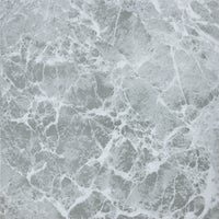 Home Impressions Gray Marble Pattern Vinyl Floor Tile, KC91111