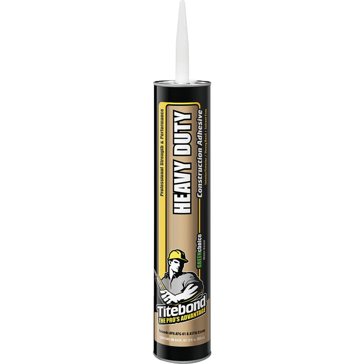29OZ SF CONSTR ADHESIVE - 7472 by Franklin Interl