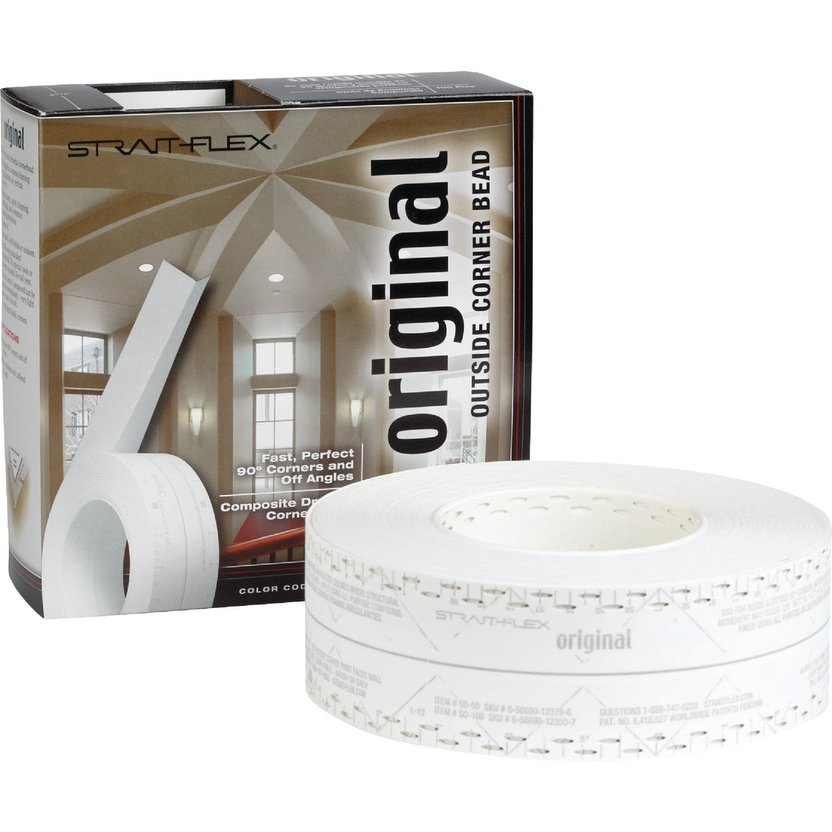 ORIGINAL DRYWL CRNR TAPE - SO-100 by Strait Flex Intl Inc