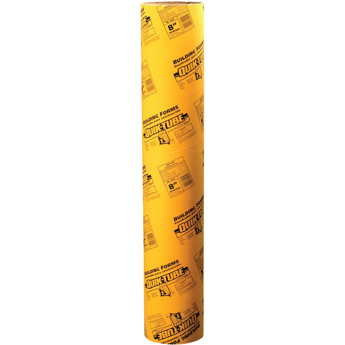 "8"" CONCRETE FORM TUBE - 692201 by Quikrete Co"
