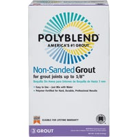 Custom Building Products Polyblend Non-Sanded Tile Grout, PBG6010
