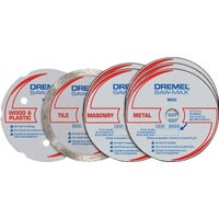 Dremel Saw-Max Cut-Off Wheel Set, SM700