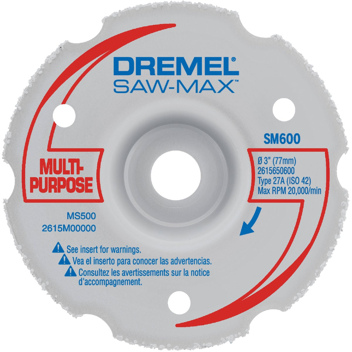 CARBIDE FLUSH CUT WHEEL - SM600 by Dremel Mfg Co