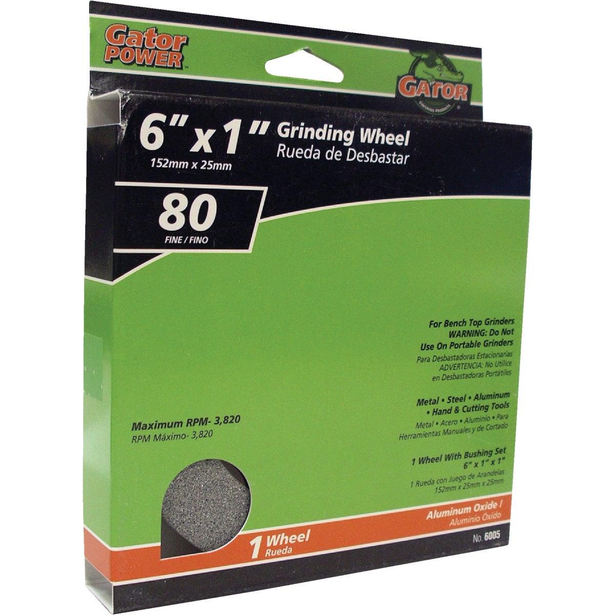 6X1 80G GRIND WHEEL
