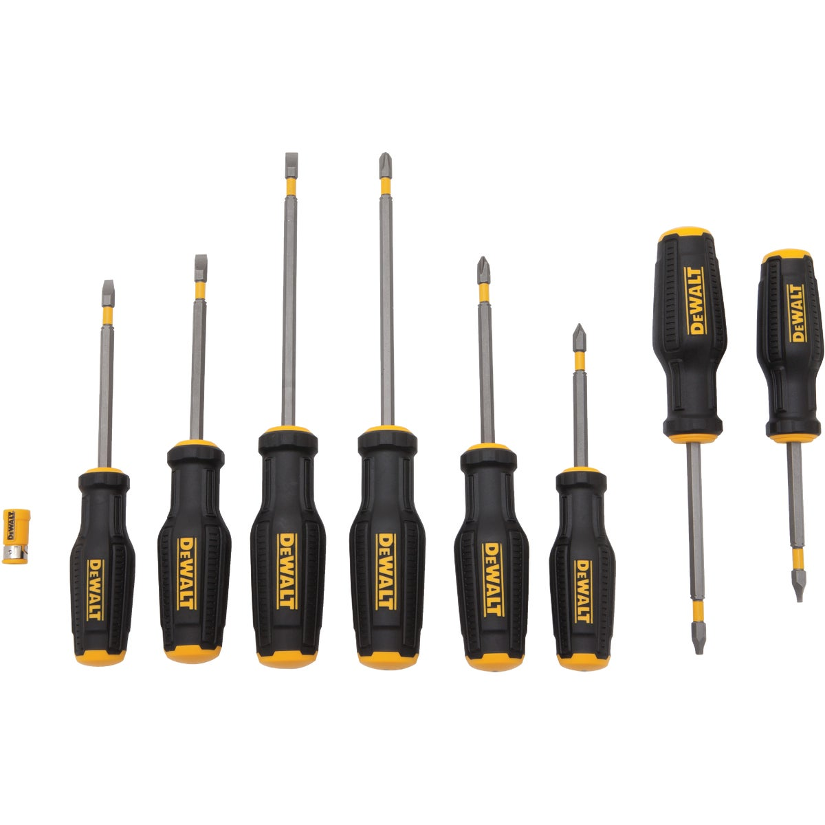 8PC SCREWDRIVER SET - DWHT66409 by Stanley Tools