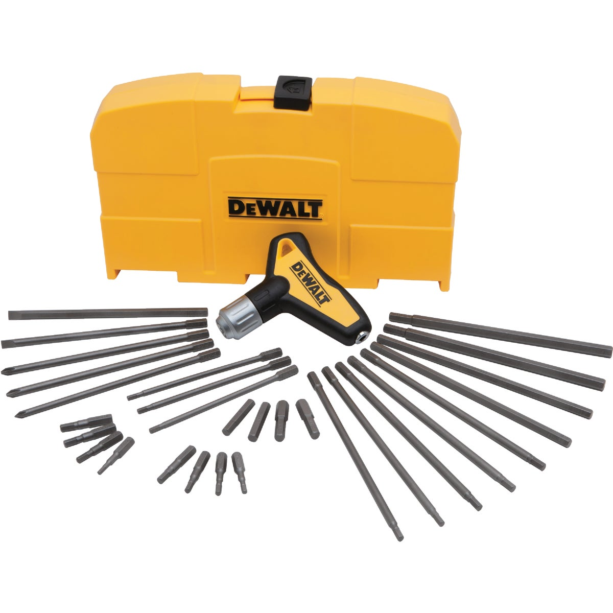 RATCHETING T-HANDLE SET - DWHT70265 by Stanley Tools