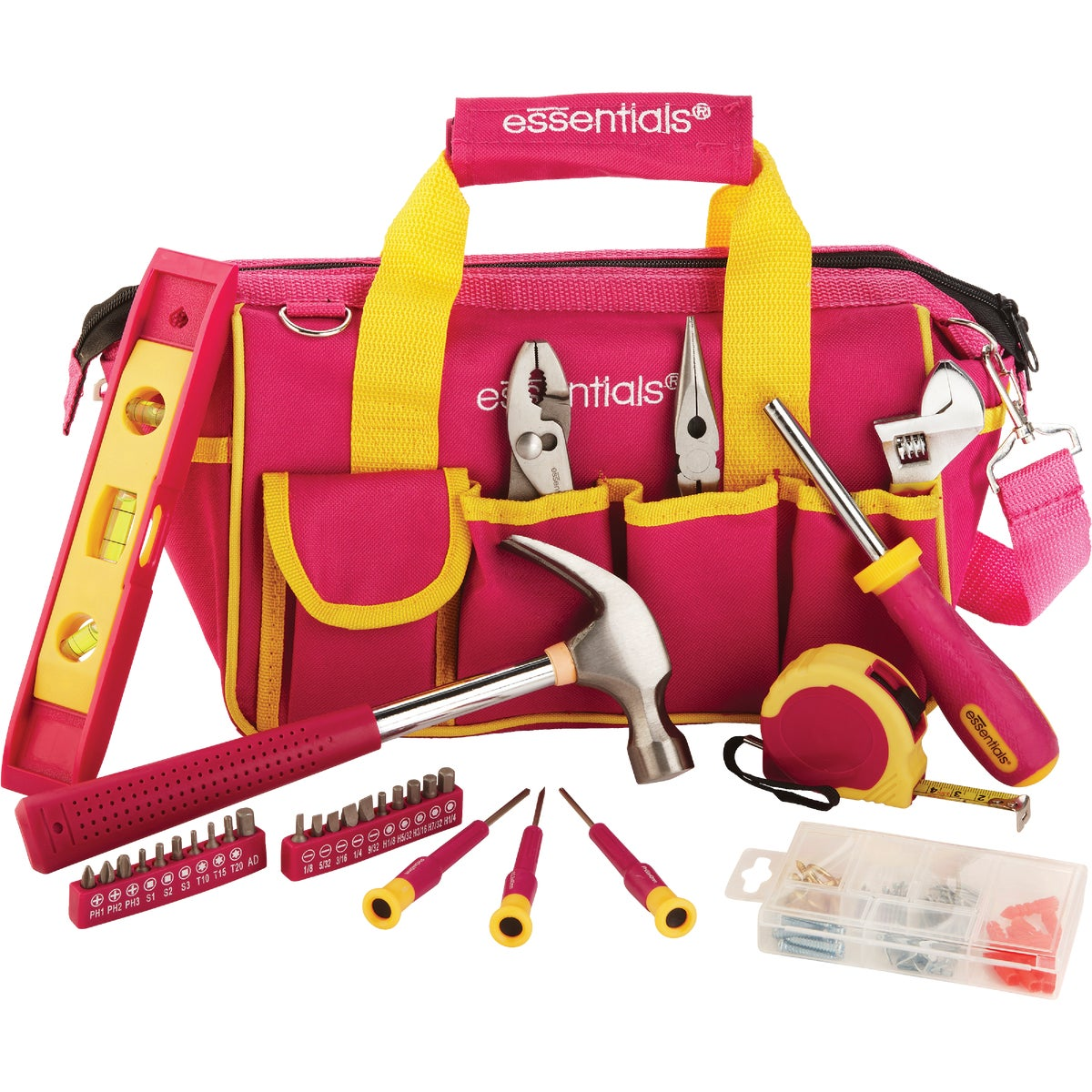 31PC PINK TOOL BAG - 21043 by Great Neck Saw Inc