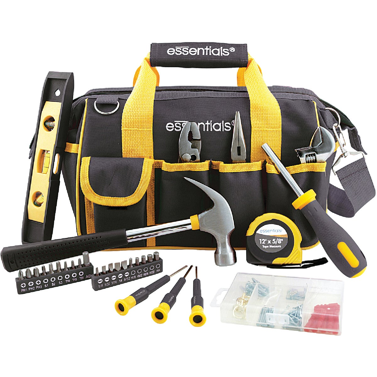 31PC BLACK TOOL BAG