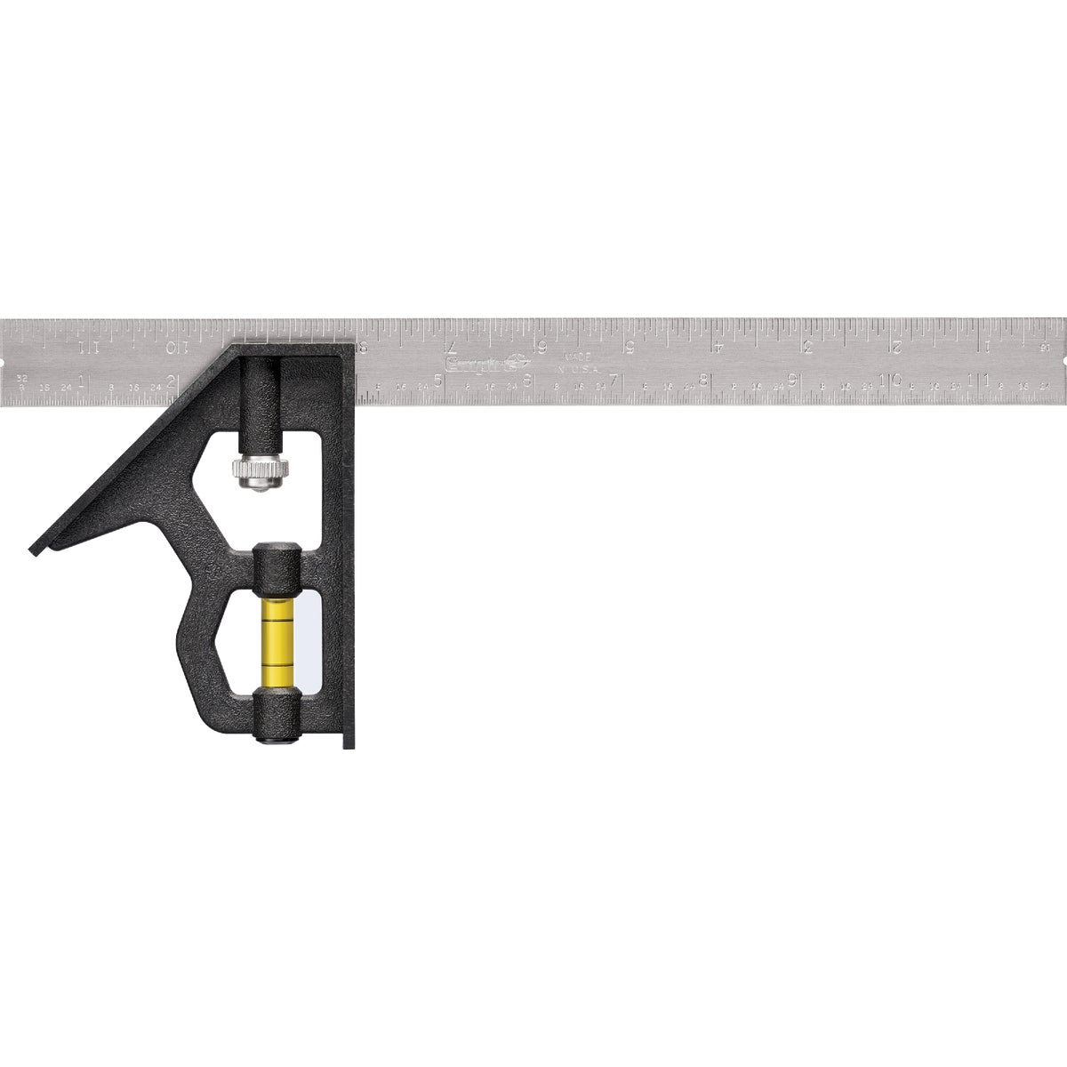 "12"" COMBINATION SQUARE - 46-012 by Stanley Tools"