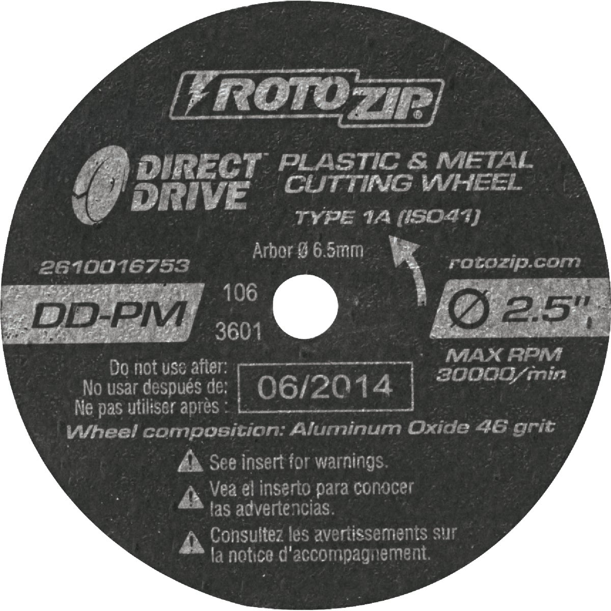 5PK METAL WHEEL - DD-PM5 by Rotozip Tool Corp