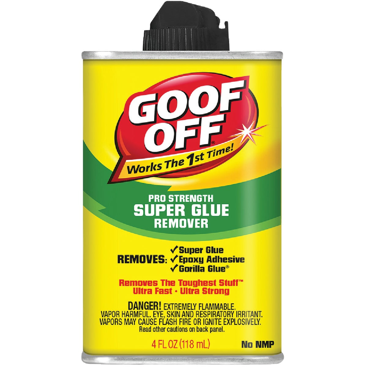 4OZ SUPER GLUE REMOVER - FG677 by Wm Barr Company