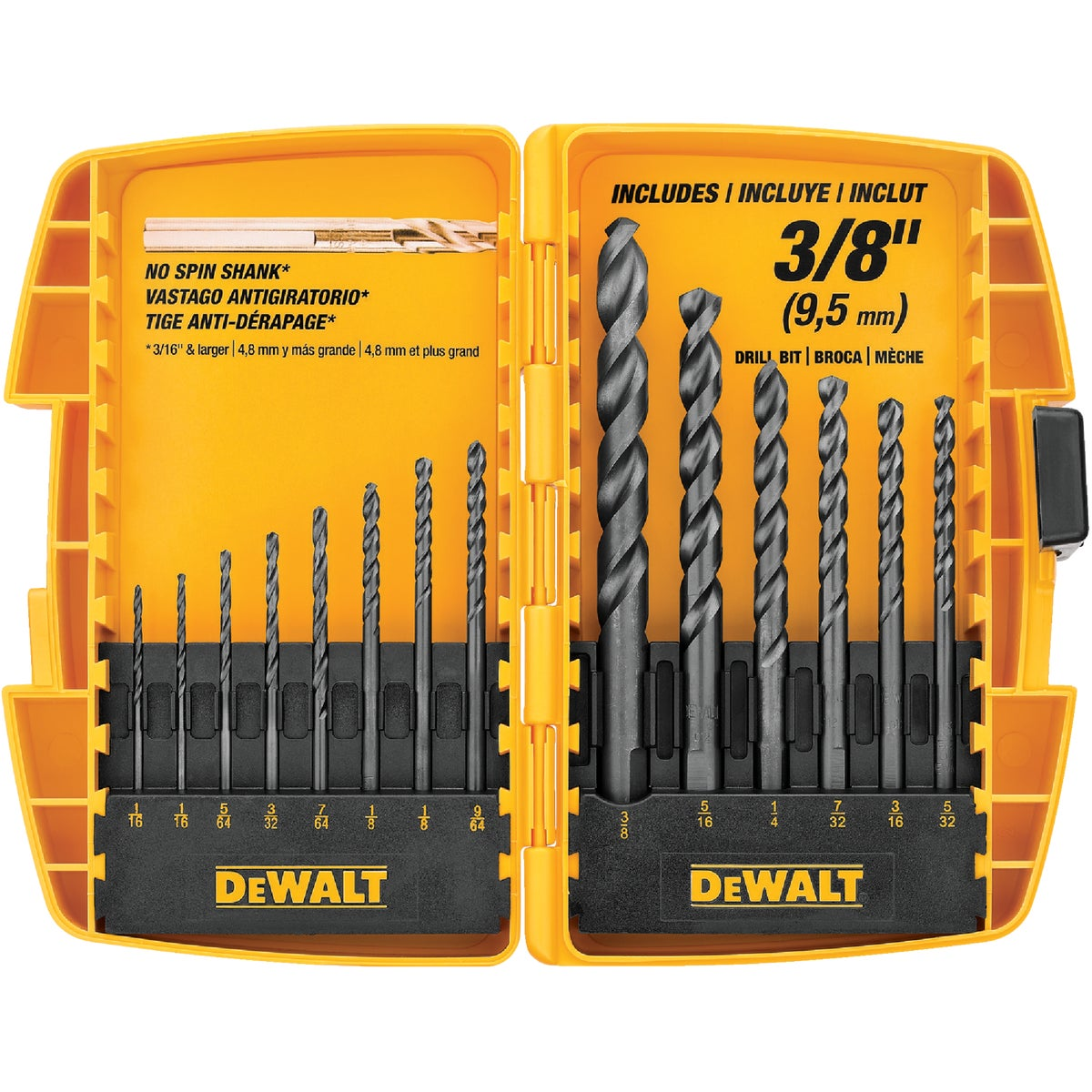 14PC BLK OXIDE BIT SET - DW1162 by DeWalt
