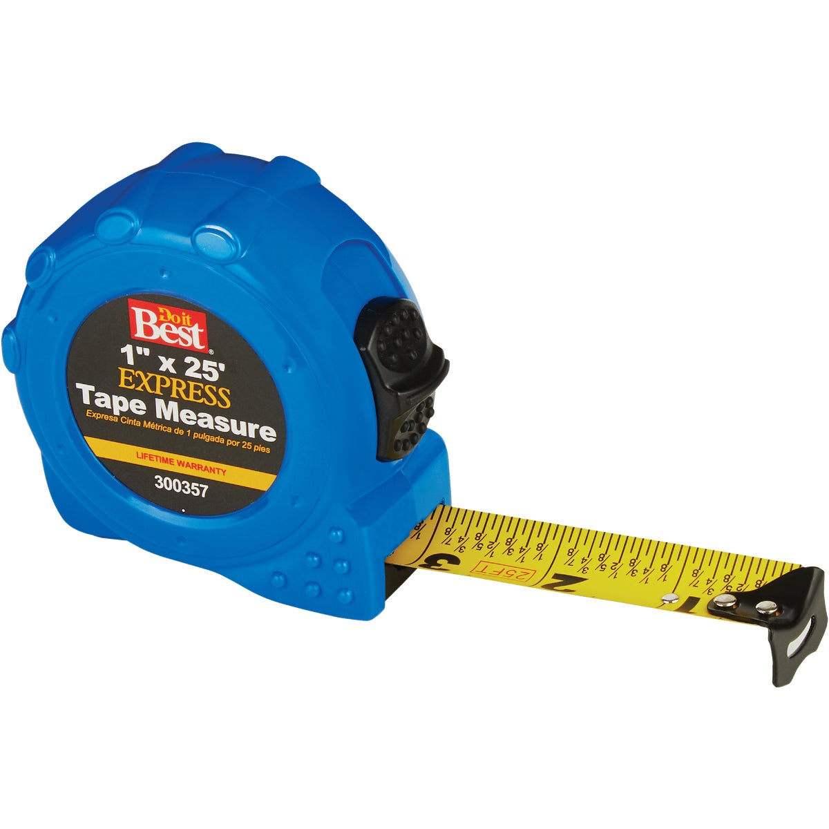 "1""X25' BLUE TAPE RULE - 300357 by Danaher Tool Ltd"