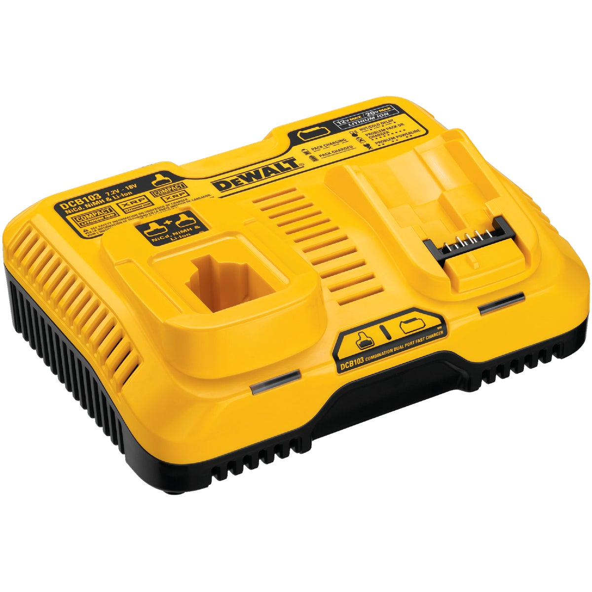 12V 18V 20V CHARGER - DCB103 by DeWalt