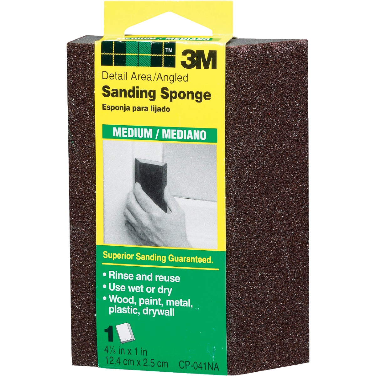 MEDIUM SANDING SPONGE - CP-041 by 3m Co