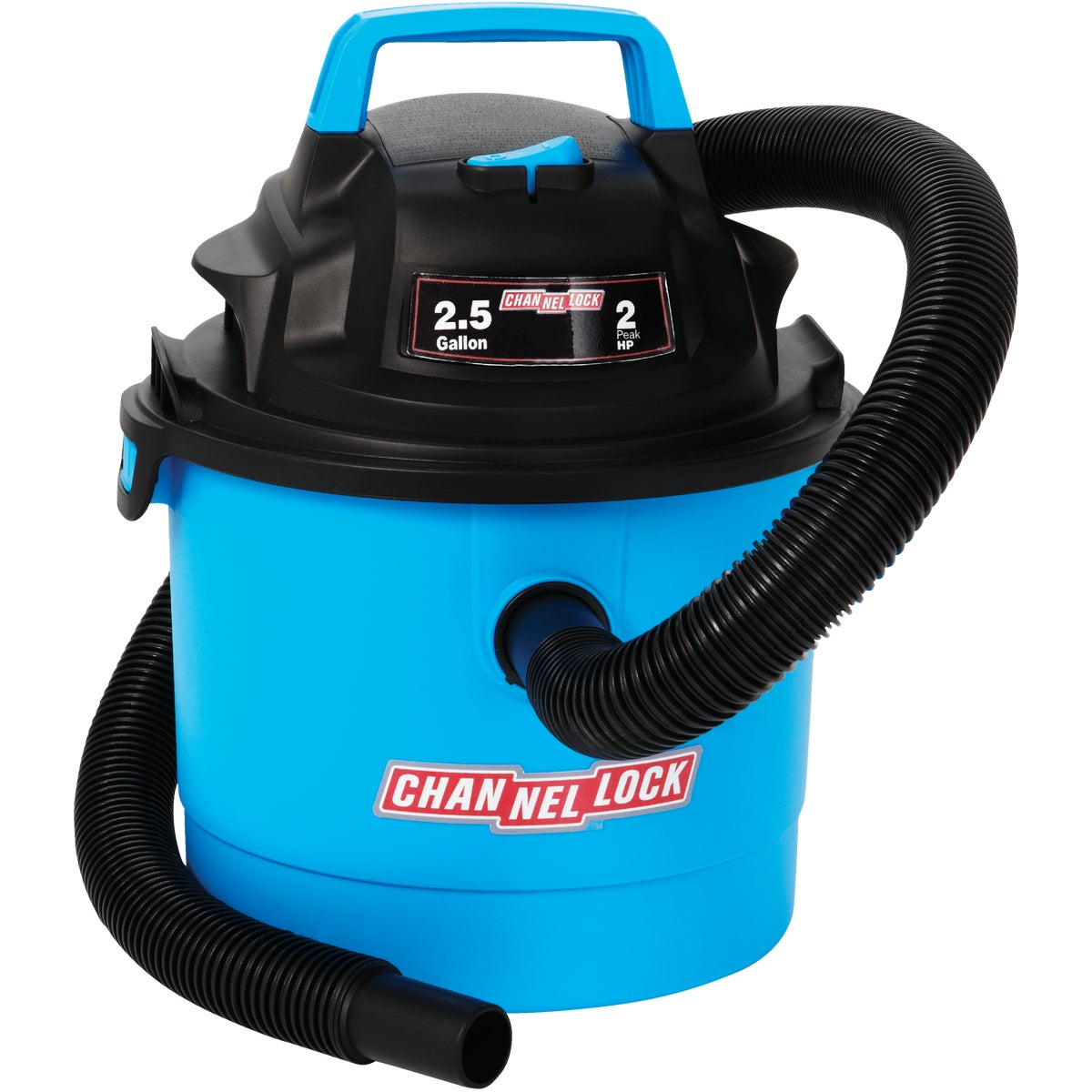 2.5GAL WET/DRY VAC - VOM205P.CL by Channellock®