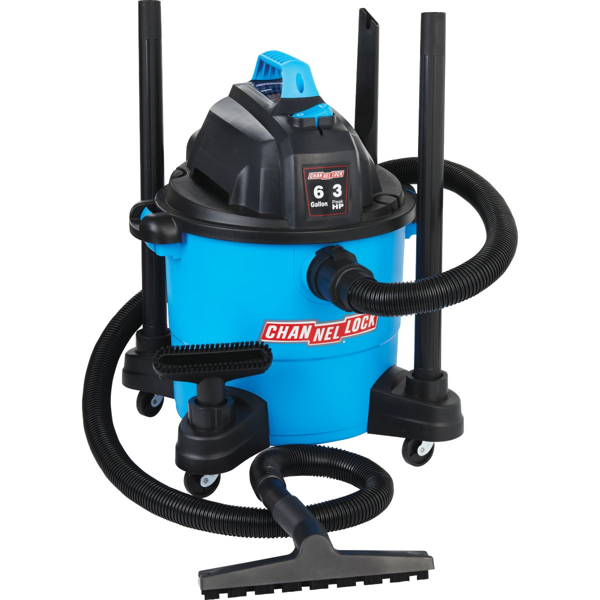 6GAL WET/DRY VAC - VJ607-1.CL by Channellock®