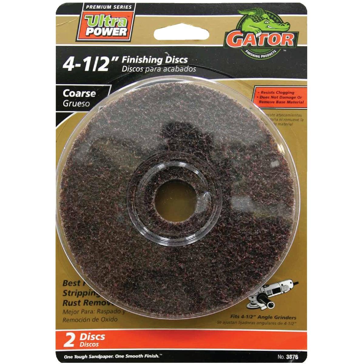 "2PK 4-1/2"" COARSE DISC - 3876 by Ali Industries Inc"