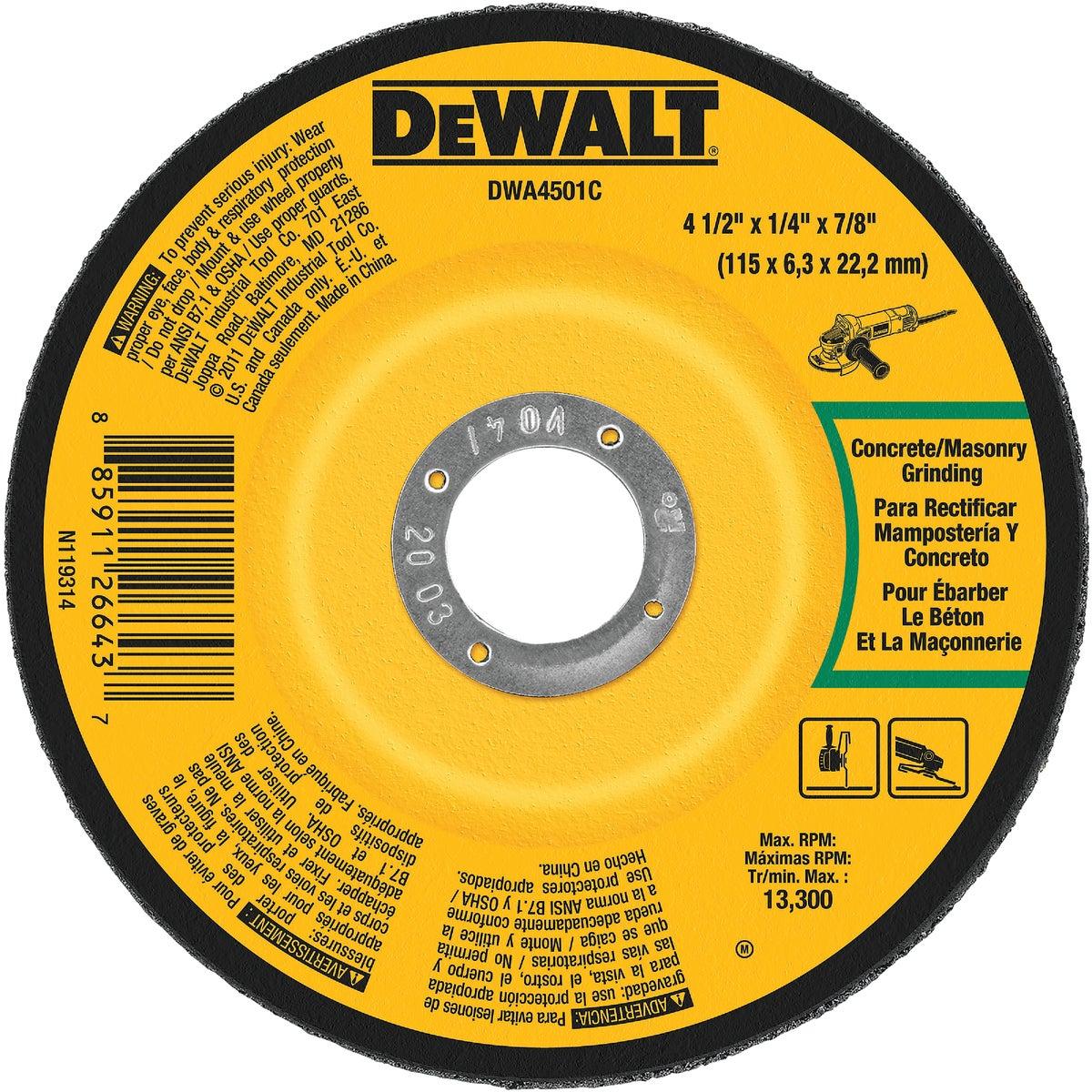 """4-1/2"""" MASONRY BLADE - DWA4501C by DeWalt"""