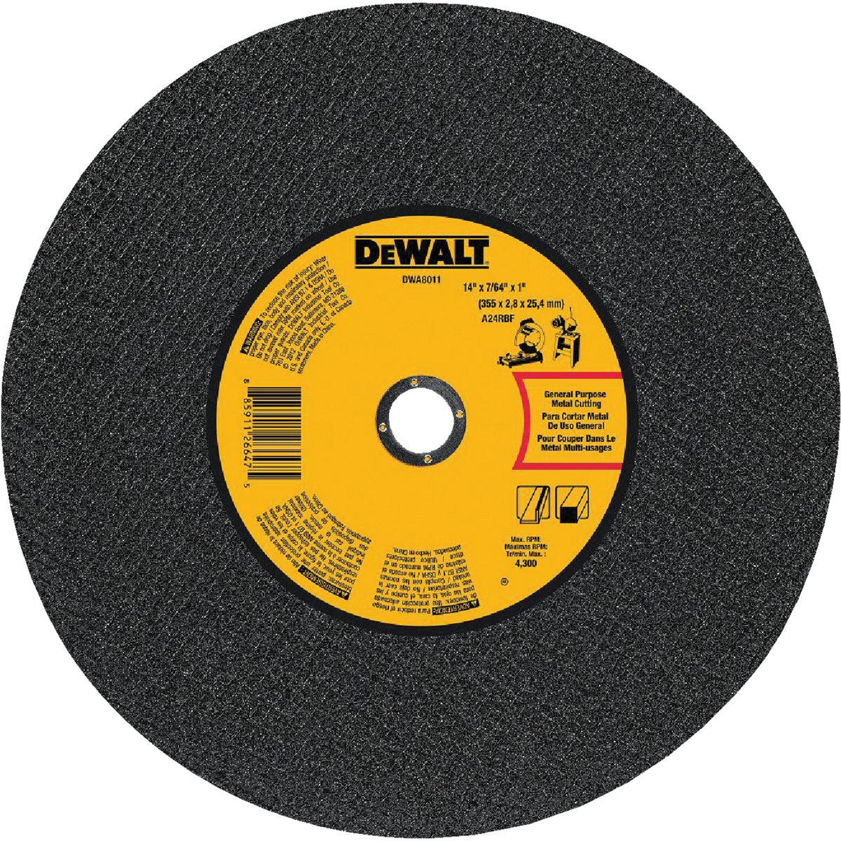 "14"" METAL BLADE - DWA8011 by DeWalt"