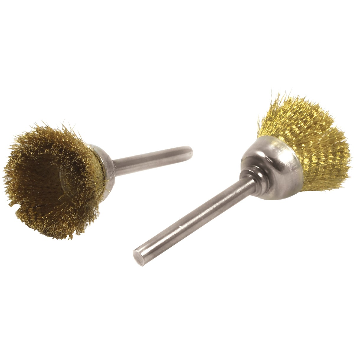 BRASS CUP BRUSH SET - 60232 by Forney Industries