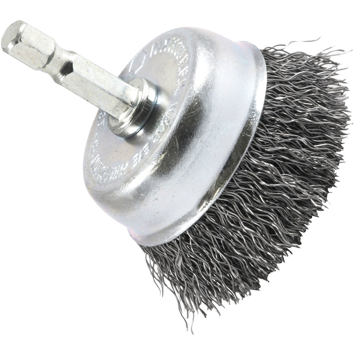 "2"" CRIMPED CUP BRUSH - 72729 by Forney Industries"