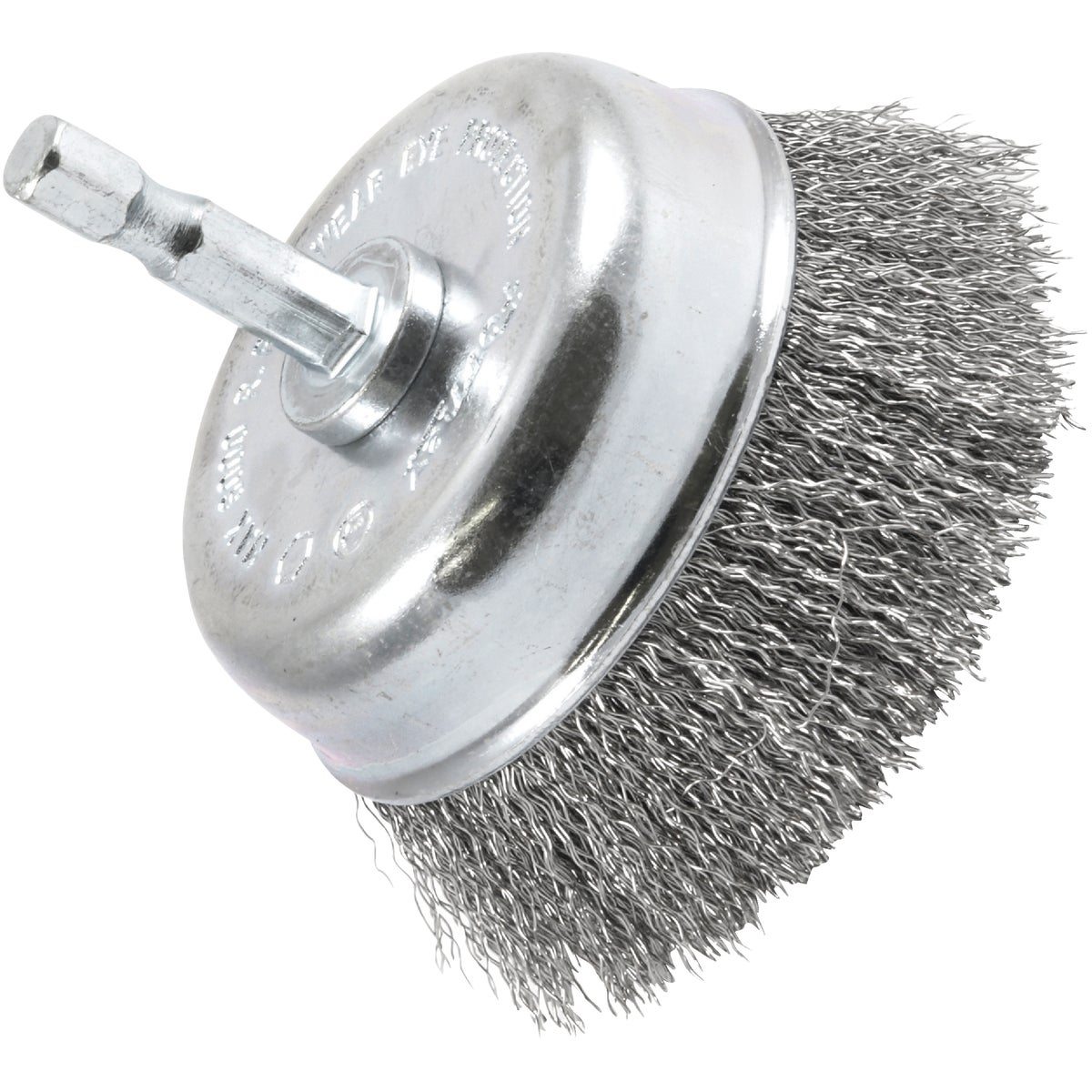"3"" CRIMPED CUP BRUSH - 72732 by Forney Industries"
