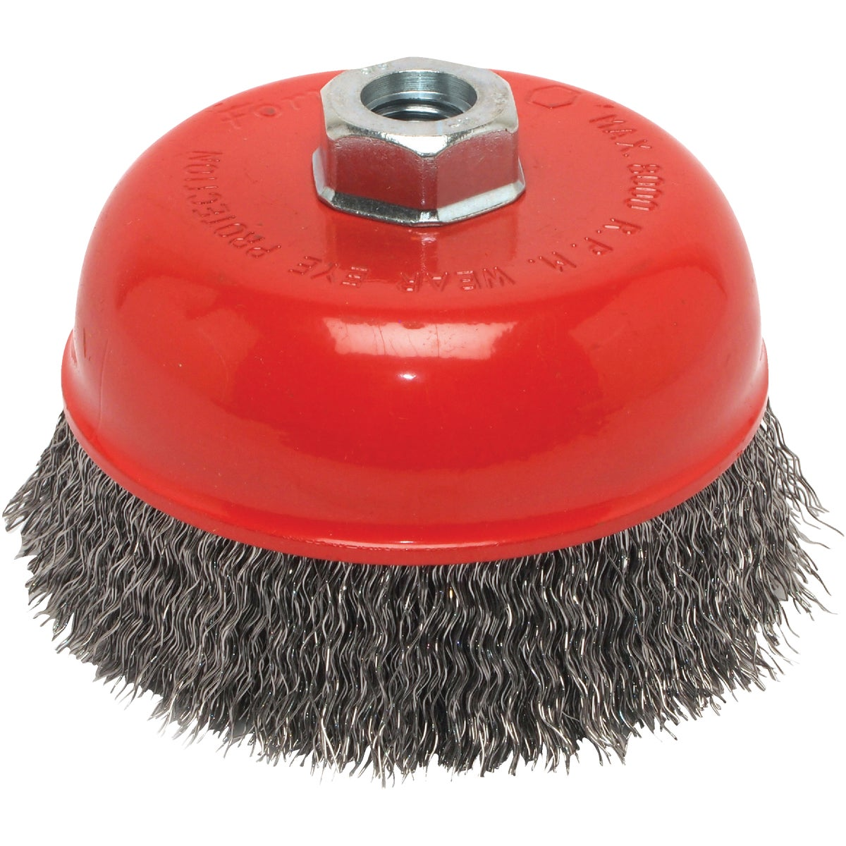 "5"" CRIMPED CUP BRUSH - 72754 by Forney Industries"