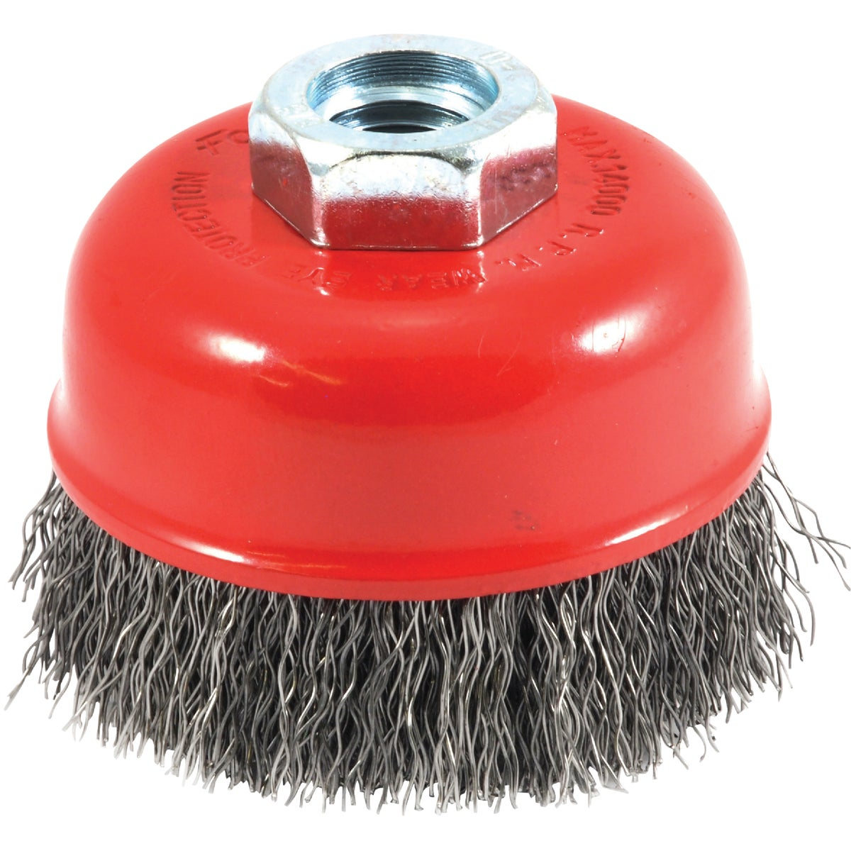 "2-3/4"" CRIMPED CUP BRUSH - 72755 by Forney Industries"