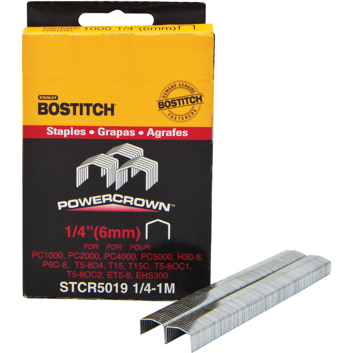 "1/4"" STAPLE - STCR50191/4-1M by Stanley Bostitch"